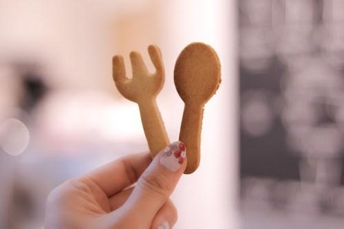 「お菓子」「お菓子作り」「クッキー」「スマイル」などがテーマのフリー写真画像