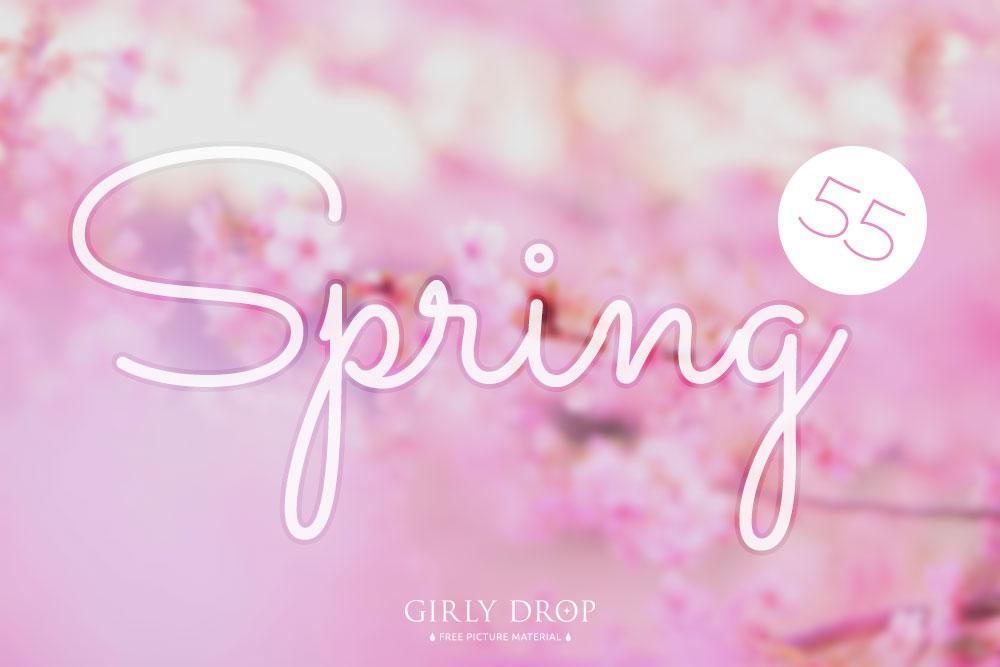 おしゃれで可愛い春の無料画像♡春デザインに使える桜やお花畑画像など55選