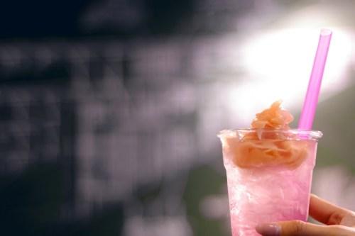 「エイプリルフール」「カフェ」「ガリ」「ガリソーダ」「ソーダ」「飲み物」などがテーマのフリー写真画像
