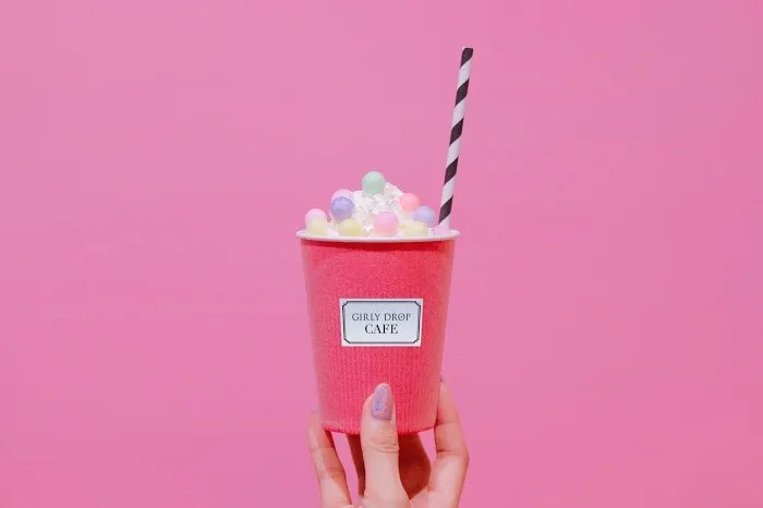 「おいり」「カフェ」「飲み物」などがテーマのフリー写真画像