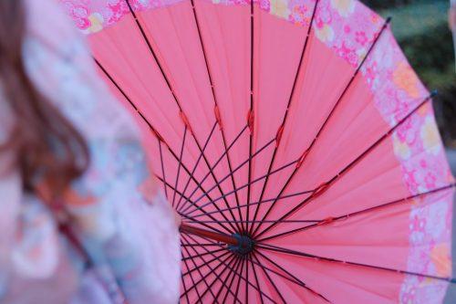 「あけおめ画像」「コーディネート」「傘」「初詣」「和」「和服」「女性・女の子」「帯」「年賀状」「成人式」「振袖」「着物」などがテーマのフリー写真画像