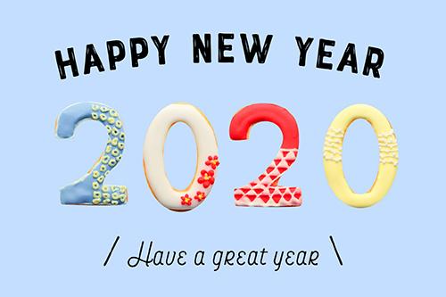 [無料]2020正月あけおめ画像・年賀状LINEスタンプに!おしゃれで可愛い正月画像が180枚以上!の無料画像:正月あけおめ年賀状画像スタンプ『HAPPY NEW YEAR 2020』