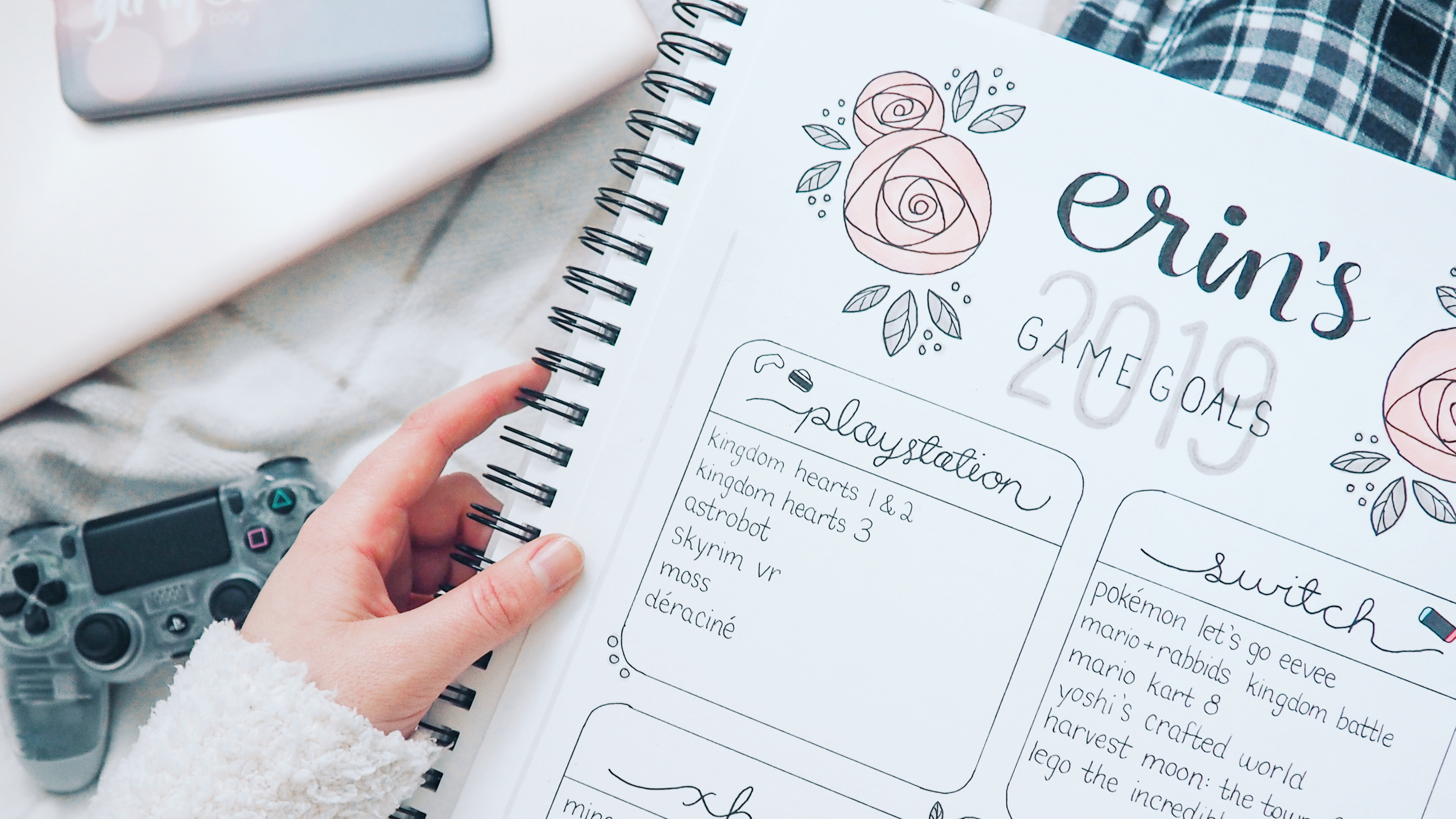 My 2019 Game Goals (and My First-Ever Bullet Journal)-feature