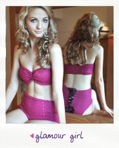 glamour girl knitted lingerie knitting pattern