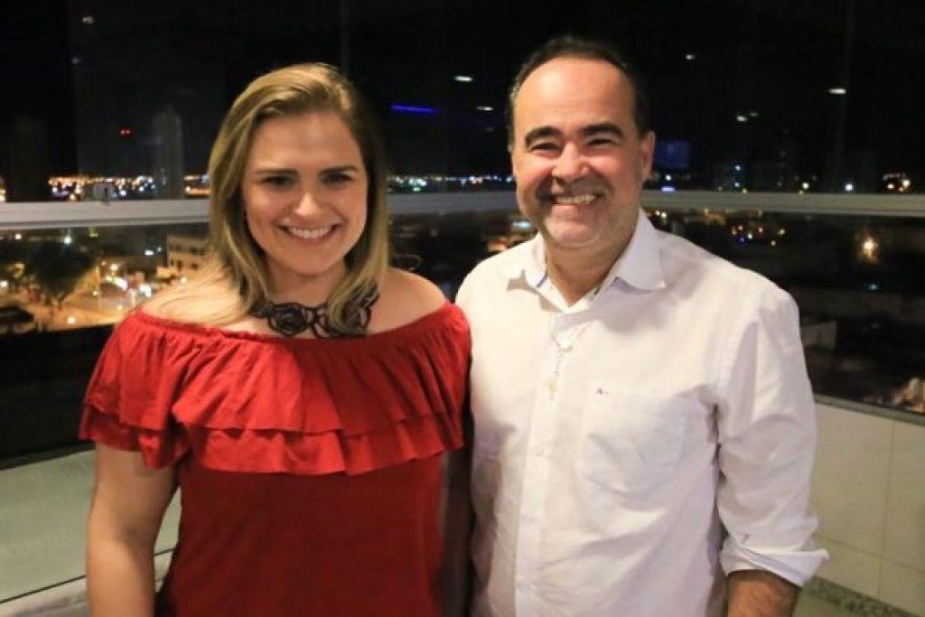 Resultado de imagem para Marilia Arraes e Julio Lossio