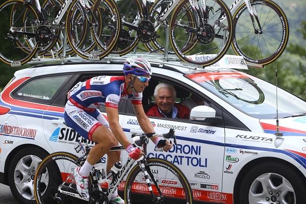 Senza Marco Bandiera e l'Androni sarà un Giro senza amore