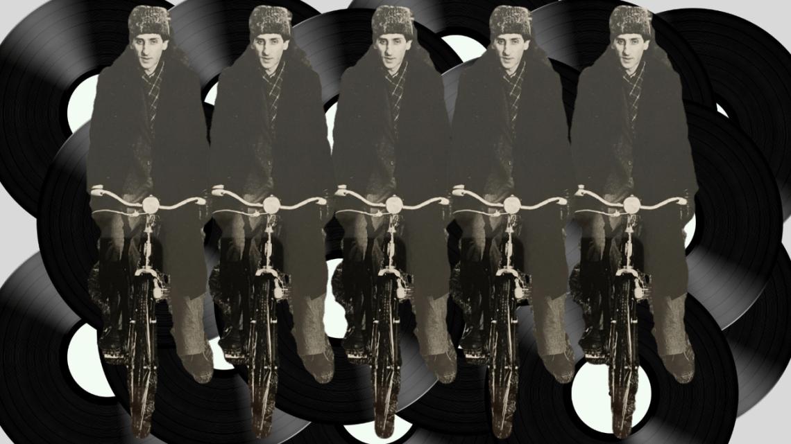 Franco Battiato e il suono della bicicletta
