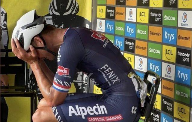 Mathieu van der Poel e l'abbandono al sentimento