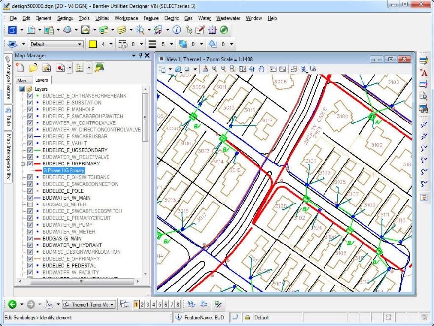 GIS utility design
