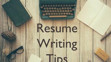 GIS Resume Writing Tips
