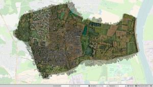 Orthophotography in GIS