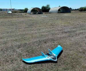 Drone flying wing of GISCAN