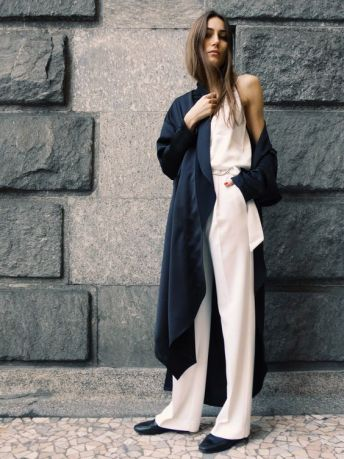 inspiration look manteau long