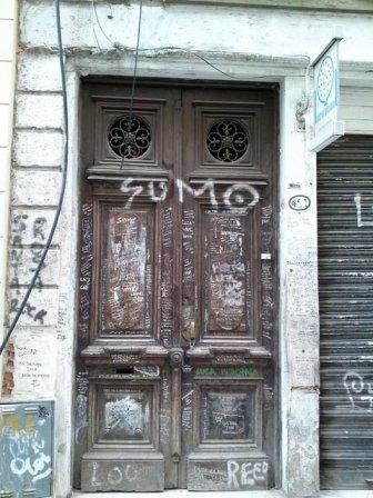 Luca Prodan fachada casa