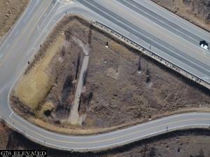 US 160 & 3 Springs Aerial Site Image