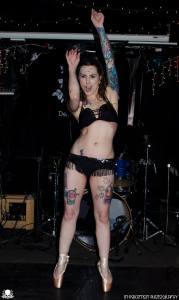 """Bloody Pointes"" Sideshow En Pointe | Gisella Rose"