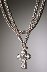 Rose Cross Wrap, Sterling