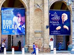 Dario Fo & Bob Dylan, Parma, Italy