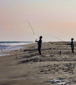 Father & Son Fishing, Westhampton, NY