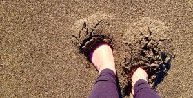 Foot Selfie, Pt. Reyes National Seashore, California
