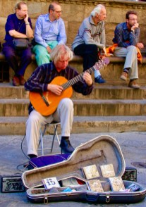 Guitarist, Florence Italy