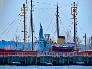 Lady Liberty on the Hudson