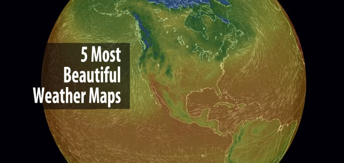 Most Beautiful Weather Maps