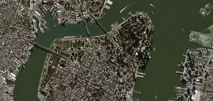 SPOT Satellite (SPOT-6 New York)