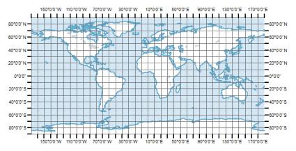Latitude / Longitude Geographic Coordinate System
