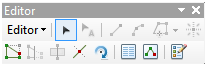 Editor Toolbar ArcMap