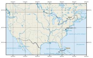 North America: Mercator