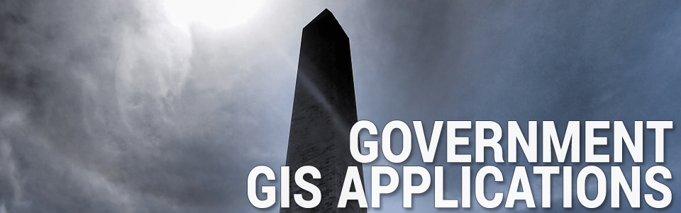 Politics Government GIS Applications