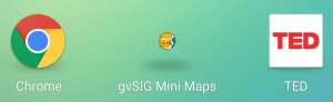 gvSIG android logo