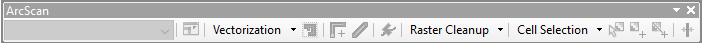 ArcScan Toolbar