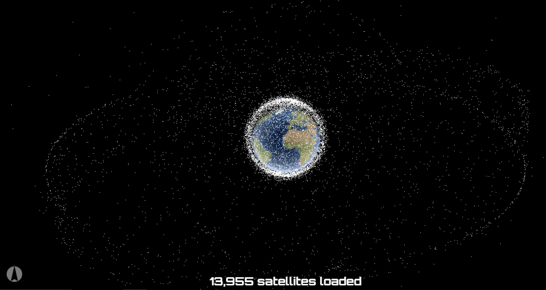 Satellites Map