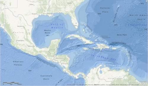 Esri's Ocean Basemap