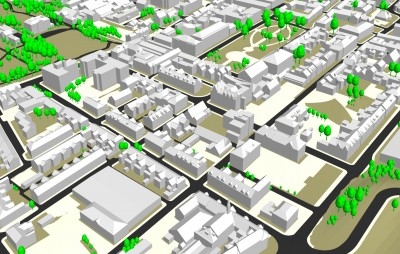GIS News  Arizona Wildfire Map  3D of Warrington   GIS Lounge 3D model of Warrington  England