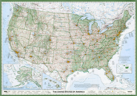 The Essential Geography of the United States of America by Dave Imus.