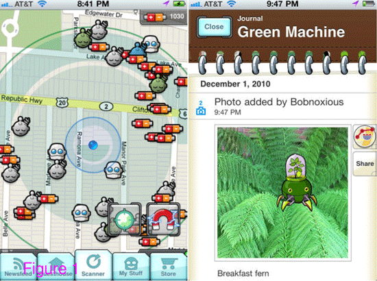 Dokobots is a geosocial exergame for iOS devices.