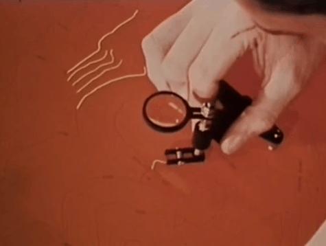 Scribing a peelcoat.