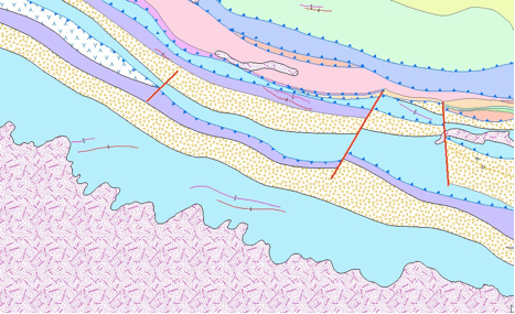 Geology map from SBL.