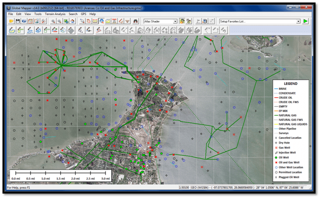 Global Energy Mapper – a spatial data and visualization tool for oil and gas industry
