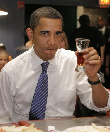 הנשיא אובמה מברך את הכותב לרגל חזרתו