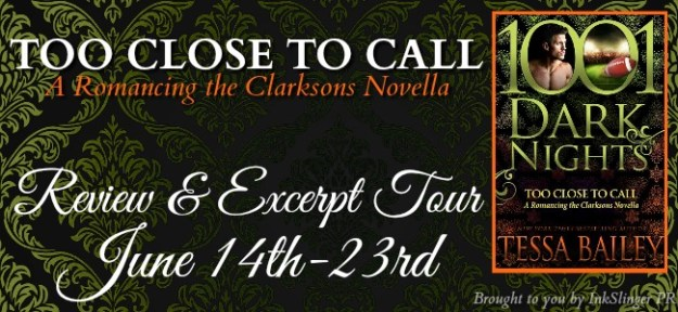 TOO CLOSE TO CALL - Tour banner