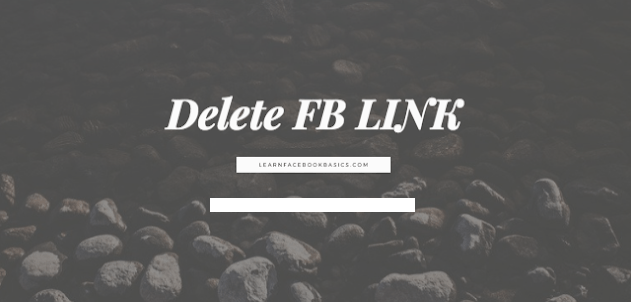 Delete Facebook Account Link Completely Right Now