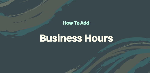 How do I add business hours to my Page on Facebook