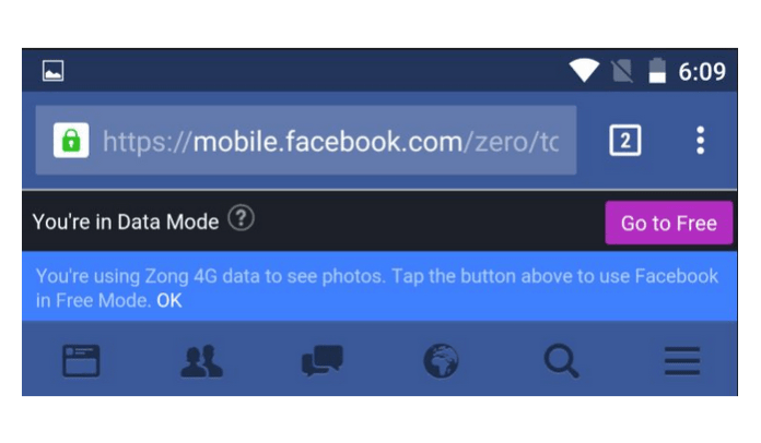 Facebook Free Mode | How to Use Facebook with Zero Data or Bandwidth Charges