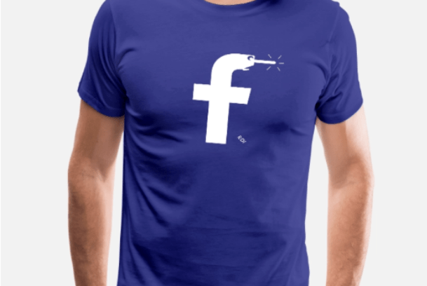 Facebook T Shirts – Facebook T Shirts for Sale on Amazon | Facebook in Men's T-Shirt
