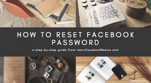 Reset Password on Facebook
