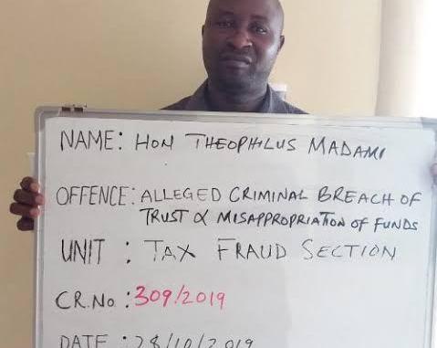 PHOTOS! Kaduna councillor arrested by EFCC